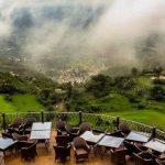Lunch at the Monal Restaurant, Pir Sohawa